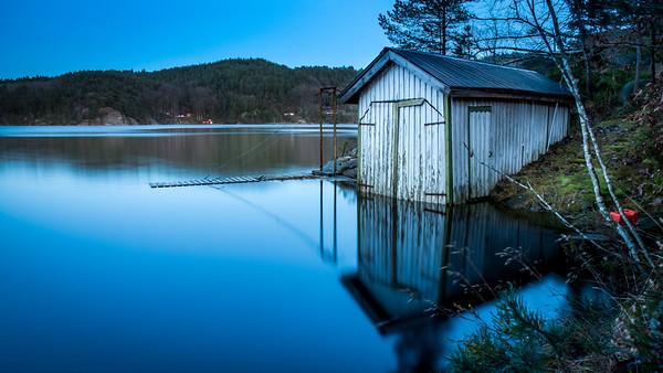 Springflo i Ålefjær